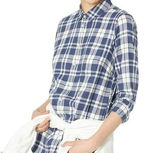 NWT X-Large JCrew Factory Flannel Shirt